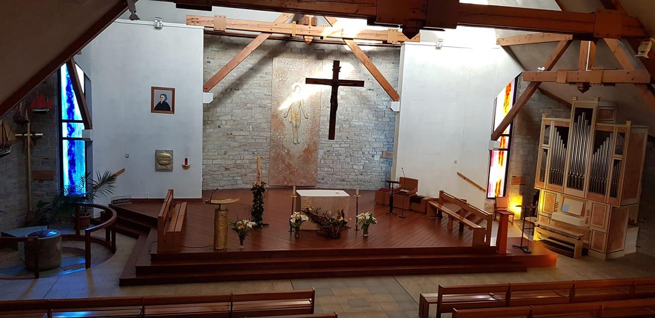 Sainte Bernadette Intérieur 2