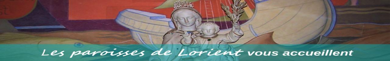 Paroisses de Lorient Logo